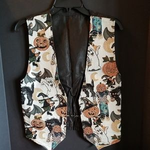 🎃👻 Vintage Halloween Vest 👻🎃